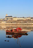 Red Boat With Blois