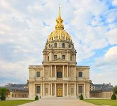 Les Invalides, Paris, France, Europe. Napoleon Tomb Place.