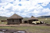 picture of zulu  - Landscape of rural zululand - JPG