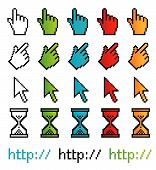 Pixel Graphic Vector Pointers