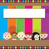 Cartoon Children Background