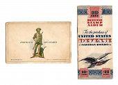 Vintage Defense Stamp Album