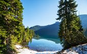 lake in mountains, Mt.Rainier MP