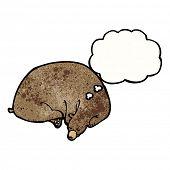 Cartoon schlafen Bär