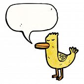 quacking duck cartoon