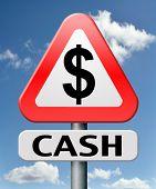 empréstimo de dinheiro dinheiro do banco cifrão moeda fluxo taxa fácil rápido renda