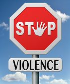 image of stop fighting  - no violence stop domestic aggression and  war bring peace no more fighting prevention - JPG