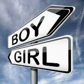 boy or girl expecting newborn baby guess the gender of unborn child