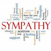 Sympathy Word Cloud Concept