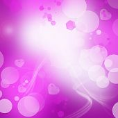 Beautiful Romantic Holiday Pink Abstract Background With Space For Text