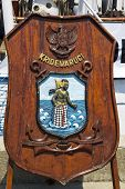 Indonesian Tall Ship Dewaruci Emblem