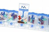 Pill Box For Medication