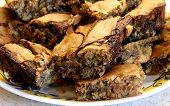 Peanut Butter Blonde Brownies