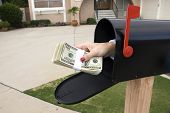 Mailbox And Buncle Of Cash