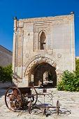 Courtyard Of The Sultanhani Caravansary At Turkey