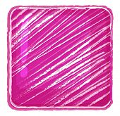 Illustration of a pink abstract on a white background