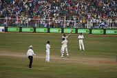 Sachin Tendulkar lifted by Yuvraj Singh