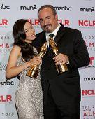 LOS ANGELES - SEP 27:  Aimee Garcia, David Zayas at the 2013 ALMA Awards - Press Room at Pasadena Civic Auditorium on September 27, 2013 in Pasadena, CA