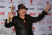 LOS ANGELES - SEP 27:  Carlos Santana at the 2013 ALMA Awards - Press Room at Pasadena Civic Auditor