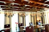 The Restaurant Interior Of Luxury Hotel, Ras Al Khaimah, Uae