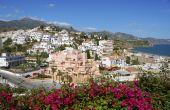 The Village Of Nerja In Spain