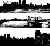 Grunge urbano paisajes urbanos Londres