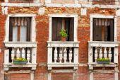 Windows In Venice