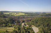 Goltzsch Viaduct - Aerial View