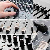 Sound Equipment Collage