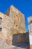 Castle of Pisticci. Basilicata. Italy.