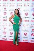 LOS ANGELES - SEP 27:  Angelique Cabral at the 2013 ALMA Awards - Arrivals at Pasadena Civic Auditor