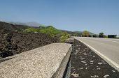 Etna volcano in Sicily, Italy