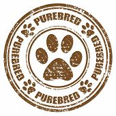 Purebred-stamp