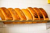 Freshly Kneaded Grain And White Breads For Sale