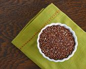 Bowl of Red Quinoa
