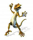 Happy Dancing Gecko