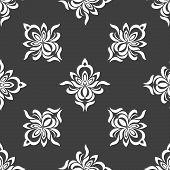 Grey seamless pattern background