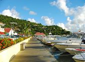 Gustavia Harbor at St Barts