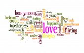 Love word cloud conceptual image
