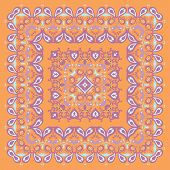 Bandana Pattern. Colorful Illustration.