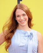 LOS ANGELES - NOV 17:  Amanda Righetti arrives to the P.S. Arts Express Yourself 2013  on November 1