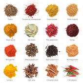 picture of peppercorns  - Different spices - JPG