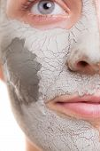 stock photo of female mask  - Skin care - JPG