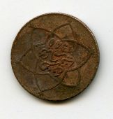 Old coin from France 2 francs