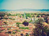 Retro Look Turin Panorama