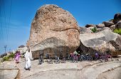 Bicycle Parking In Hampi