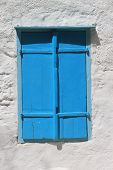 greek window at Symi island