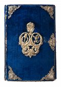 Vintage Book Cover With Ornament