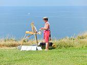 Artist Paints Sells Landscapes Of Cote D'albatre