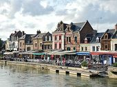 Restaurants On Quai Belu In Amiens City